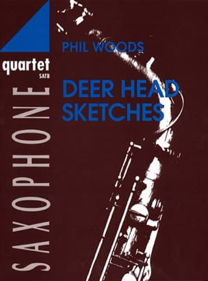 Deer Head Sketches Phil Woods Partition Saxophone - laflutedepan