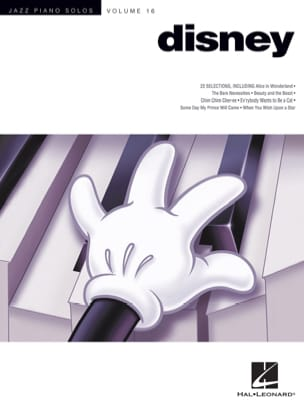 Jazz Piano Solos Series Volume 16 - Disney DISNEY laflutedepan