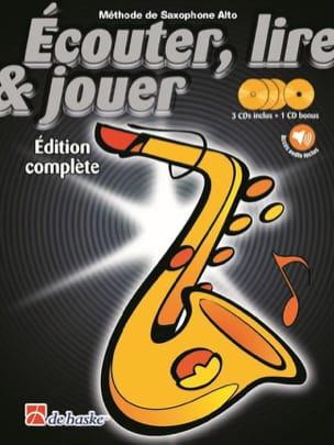 Ecouter Lire et Jouer - Méthode de Saxophone Alto - Edition complète laflutedepan