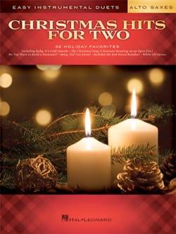 Christmas Hits for Two Alto Saxes Noël Partition laflutedepan