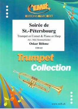 Soirée de St.-Pétersbourg Oskar Böhme Partition laflutedepan