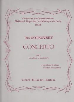 Concerto Ida Gotkovsky Partition Trombone - laflutedepan
