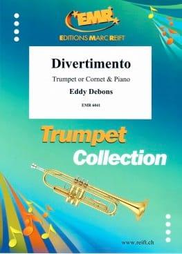 Divertimento Eddy Debons Partition Trompette - laflutedepan