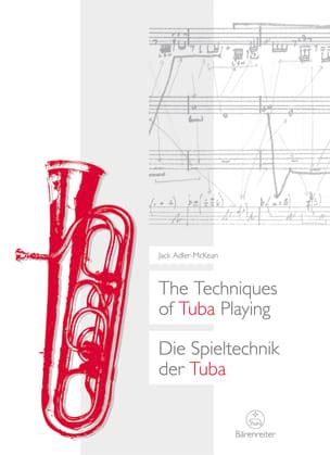 Jack Adler-McKean - Die Techniken des Tuba-Spielens - Partition - di-arezzo.de