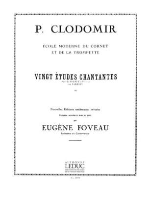20 Etudes Chantantes - Pierre-François Clodomir - laflutedepan.com