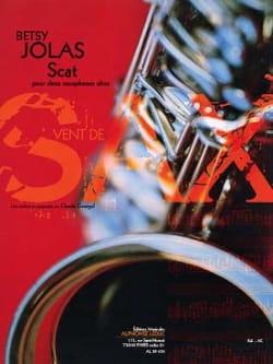 Scat Betsy Jolas Partition Saxophone - laflutedepan