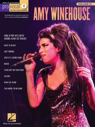 Pro Vocal Women's Edition Volume 55 - Amy Winehouse laflutedepan