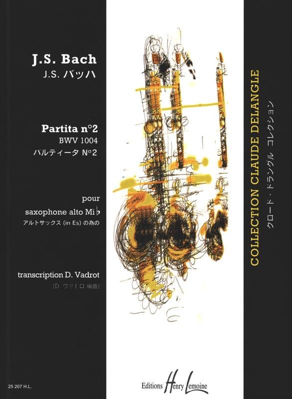 Partita N° 2 BWV 1004 - BACH - Partition - laflutedepan.com