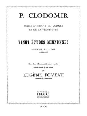 20 Etudes Mignonnes Pierre-François Clodomir Partition laflutedepan