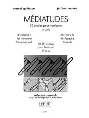 Médiatudes - 30 Etudes Galiègue M. / Naulais J. Partition laflutedepan