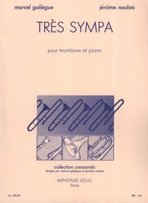 Très Sympa Galiègue M. / Naulais J. Partition Trombone - laflutedepan
