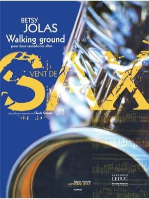 Walking Ground Betsy Jolas Partition Saxophone - laflutedepan