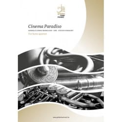 Cinema Paradiso - Quatuor de Cors laflutedepan