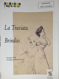 Brindisi (La Traviata) VERDI Partition laflutedepan