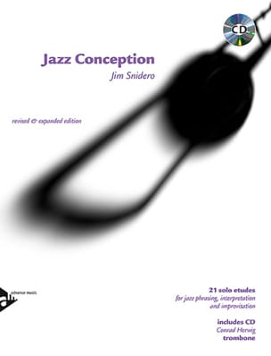 Jazz Conception - 21 Solo Etudes Jim Snidero Partition laflutedepan