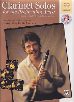 Clarinet Solos For The Performing Artist Michael Garson laflutedepan