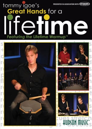 DVD - Great Hands For A Lifetime Tommy Igoe Partition laflutedepan