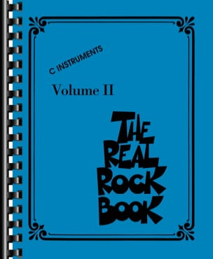 The Real Rock Book Volume 2 - C Instruments Partition laflutedepan