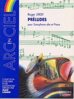 Préludes Roger Lersy Partition Saxophone - laflutedepan