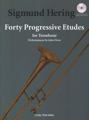 40 Progressive Etudes for Trombone Sigmund Hering laflutedepan