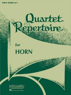 Quartet Repertoire Cor 1 Partition Cor - laflutedepan