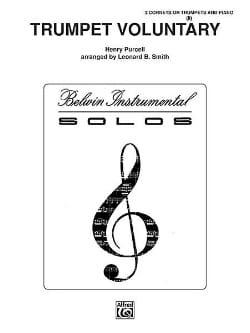 Trumpet Voluntary - PURCELL - Partition - Trompette - laflutedepan.com