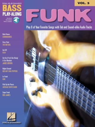 Bass Play-Along Volume 5 - Funk Partition Guitare - laflutedepan
