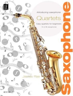 Introducing Saxophone Quartets James Rae Partition laflutedepan