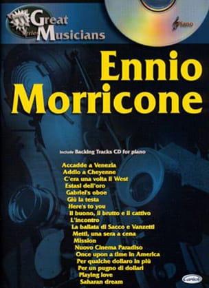 Série Great Musicians Ennio Morricone Partition laflutedepan