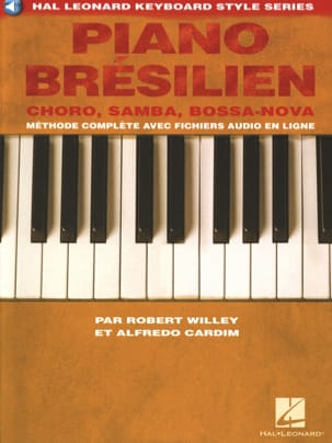 Piano brésilien Robert Willey & Alfredo Cardim Partition laflutedepan
