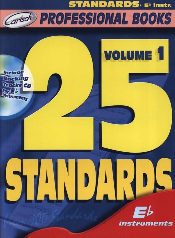 25 Standards Volume 1 - Professional Books - laflutedepan.com