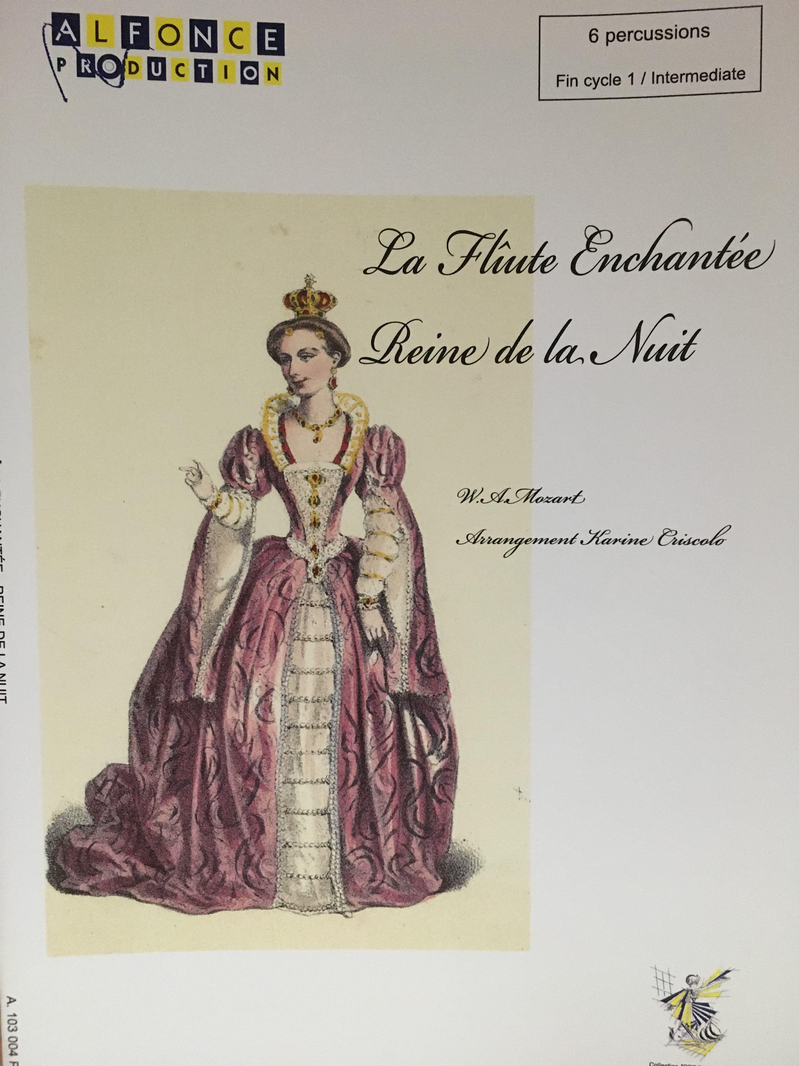 La Reine de la Nuit (La Flûte Enchantée) - MOZART - laflutedepan.com