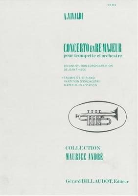 Concerto En Ré Majeur VIVALDI Partition Trompette - laflutedepan