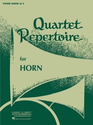 Quartet Repertoire Cor 3 Partition Cor - laflutedepan