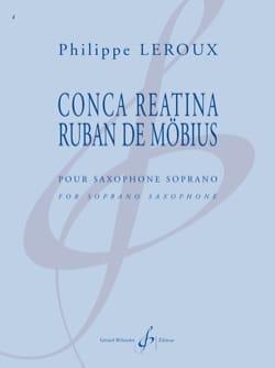 Conca Reatina - Ruban de Möbius Philippe Leroux Partition laflutedepan