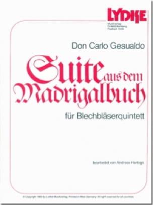 Suite aus dem Madrigalbuch - Don Carlo Gesualdo - laflutedepan.com