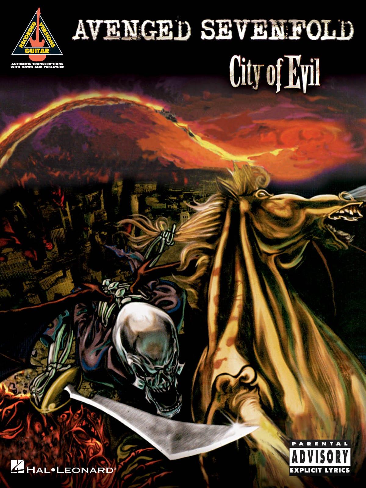 City Of Evil - Avenged Sevenfold - Partition - laflutedepan.com