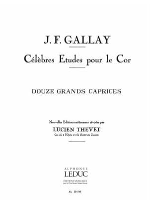 12 Grands Caprices Opus 32 Jacques-François Gallay laflutedepan