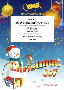 28 Mélodies de Noël - Volume 2 Noël Partition Cor - laflutedepan