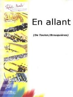 En Allant Jacques Toulon Partition Trombone - laflutedepan