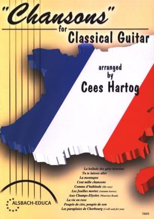Chansons For Classical Guitar Partition Guitare - laflutedepan