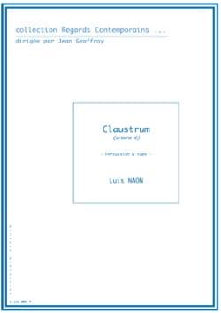 Claustrum Urbana 6 Luis Naon Partition laflutedepan