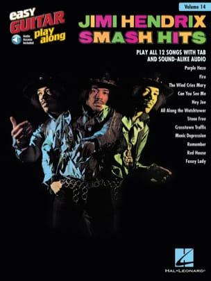 Easy Guitar Play-Along Volume 14 - Jimi Hendrix Smash Hits laflutedepan