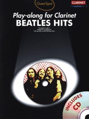 Guest Spot - Beatles Hits Play-Along For Clarinet BEATLES laflutedepan