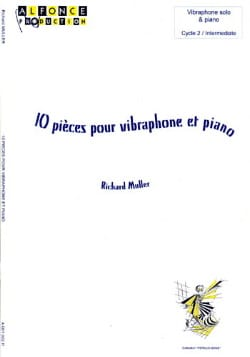 10 Pièces pour Vibraphone et Piano Richard Muller laflutedepan
