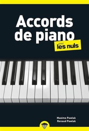 Accords de Piano pour les Nuls Partition Piano - laflutedepan
