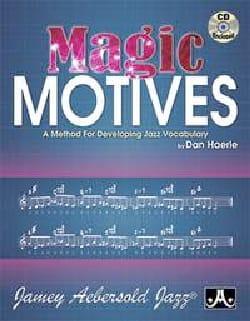 Magic Motives + CD METHODE AEBERSOLD Partition Harmonie - laflutedepan
