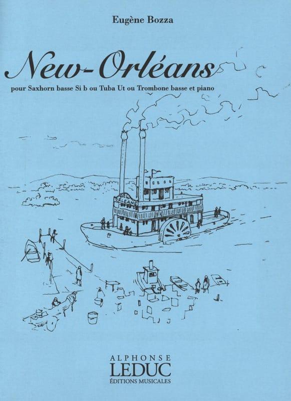 New Orleans - Eugène Bozza - Partition - Tuba - laflutedepan.com