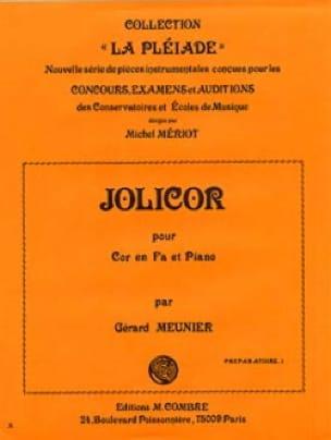 Jolicor - Gérard Meunier - Partition - Cor - laflutedepan.com