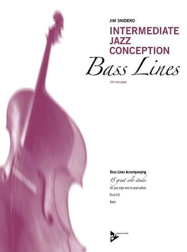 Intermediate Jazz Conception - 15 Great Solo Etudes - Bass Line - laflutedepan.com